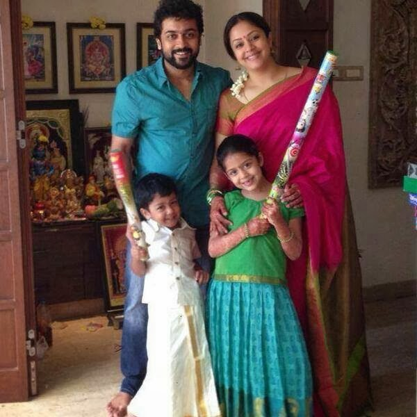 Rare/Unseen Pics of Surya with his Family | Actor Surya Blog