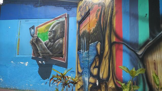 lukisan kampung tridi kesatrian malang
