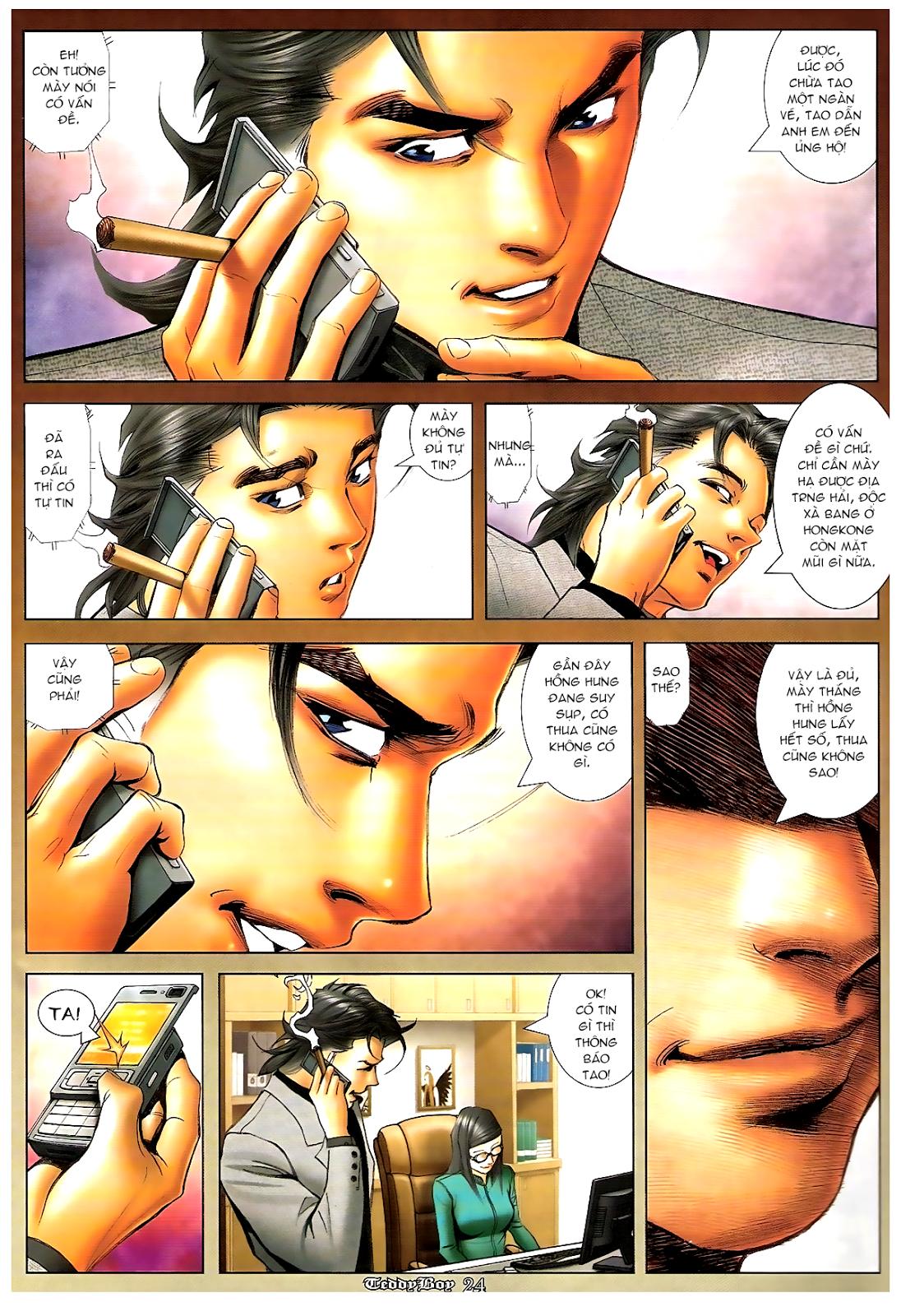 Người Trong Giang Hồ - Chapter 1194: Ác mộng Bố Già - Pic 20