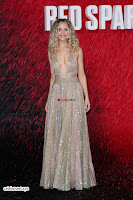 Jennifer Lawrence in a golde glittering gown at Red Sparrow Premiere in London ~  Exclusive Galleries 007.jpg