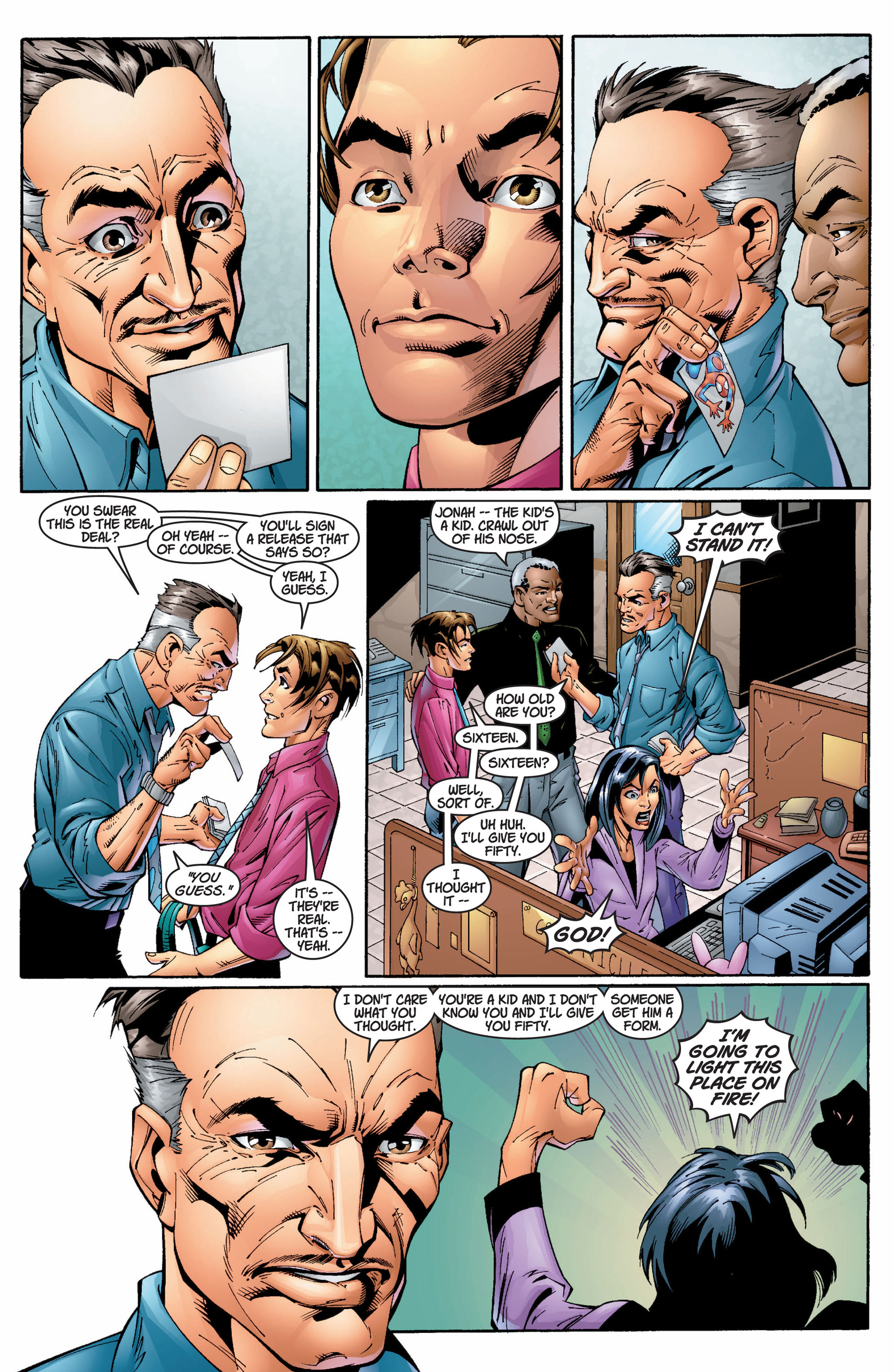 Read online Ultimate Spider-Man (2000) comic -  Issue #8 - 12