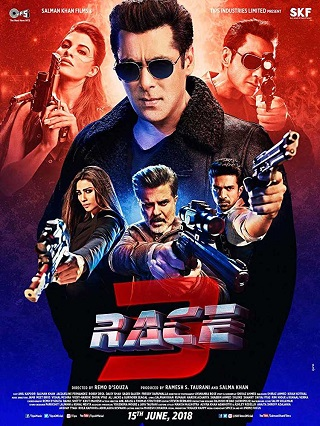 Race 3 (2018) Full Movie PreDVDRip 700mb Download