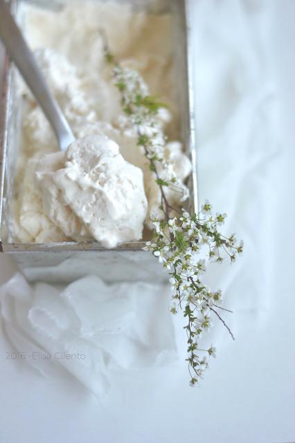 gelato alla camomilla