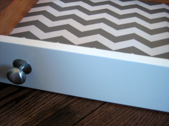 Chevron Dresser Drawer