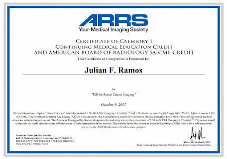 MR for RECTAL CANCER IMAGING