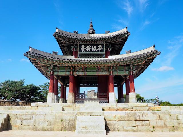 Hwaseomun Gate, part of Hwaseong Fortress, Suwon, Gyeonggi-do, South Korea