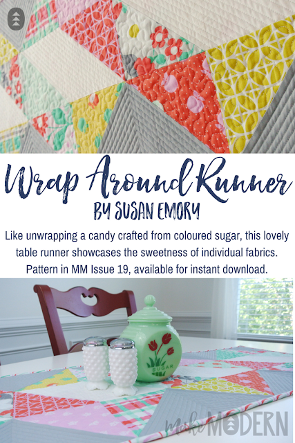 Make Modern Issue 19 Wrap Around Runner Susan Emory