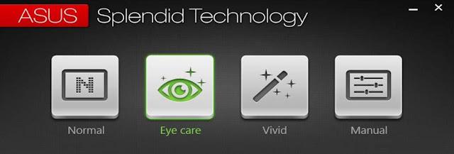 Fitur Teknologi ASUS Splendid.