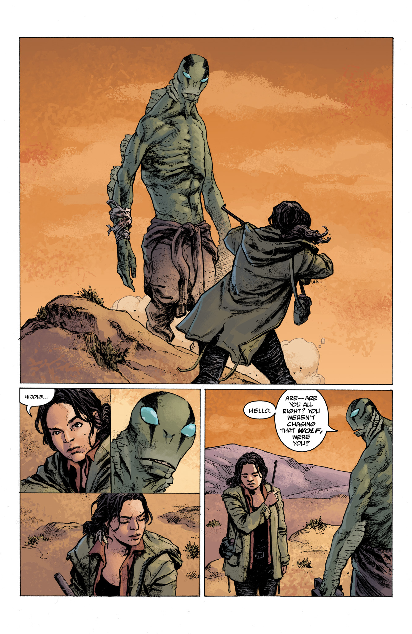Read online Abe Sapien comic -  Issue #6 - 4