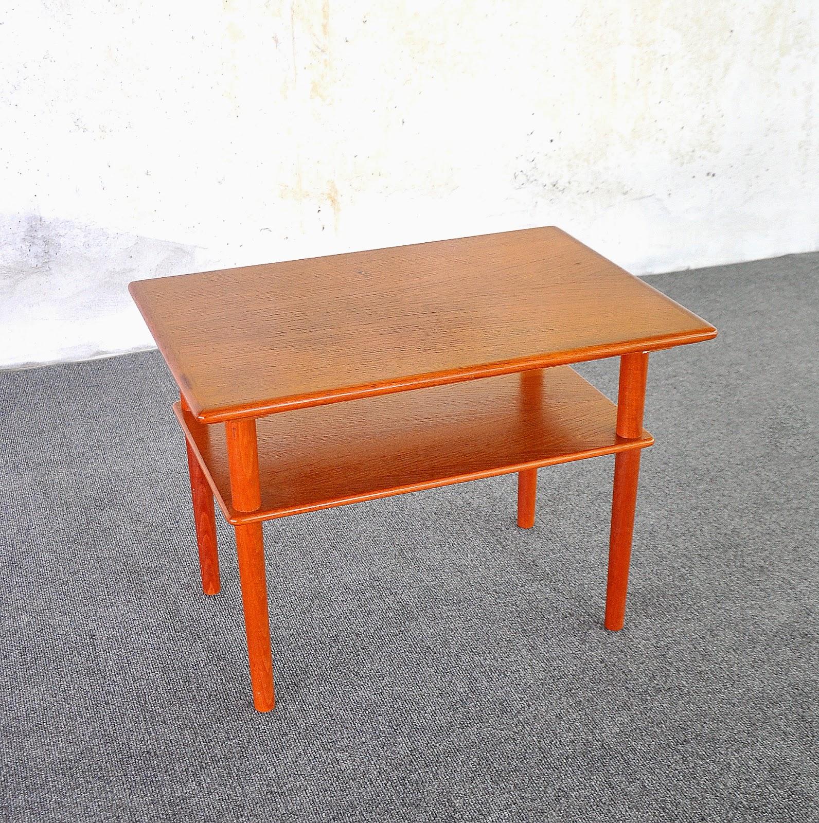 Select Modern Danish Modern Teak Side End Table Or Nightstand