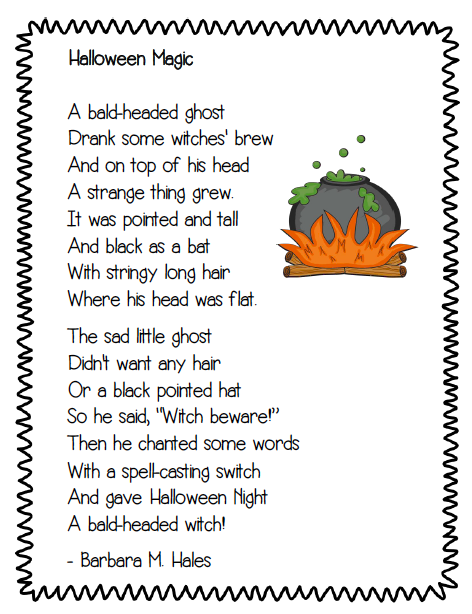 narrative poem examples for kids - photo #29