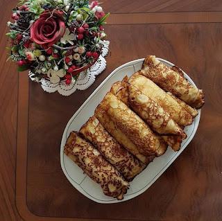 Nalesniki - polnische Pfannkuchen