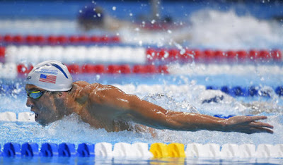 Michael Phelps Advances in USA in 200m Swimming Trails