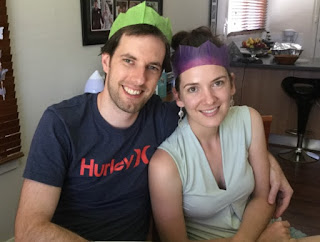 Our son Jared and daughter-in-law Hannah