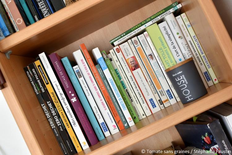 Désencombre sa bibliothèque : minimalisme