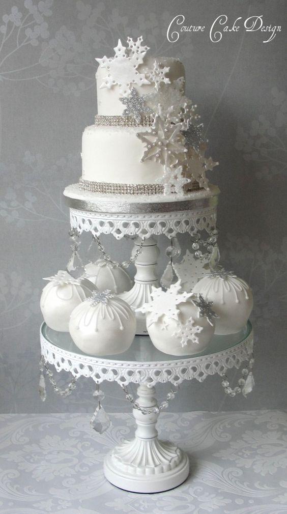 Round Christmas Wedding Cake - CakeCentral.com |Christmas Wedding Cakes