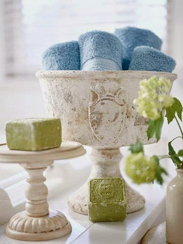 beautiful bath storage