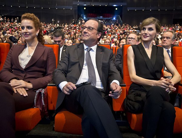 4cc411b220ef Queen Letizia and Princess Lalla Salma at World Cancer Congress in ...