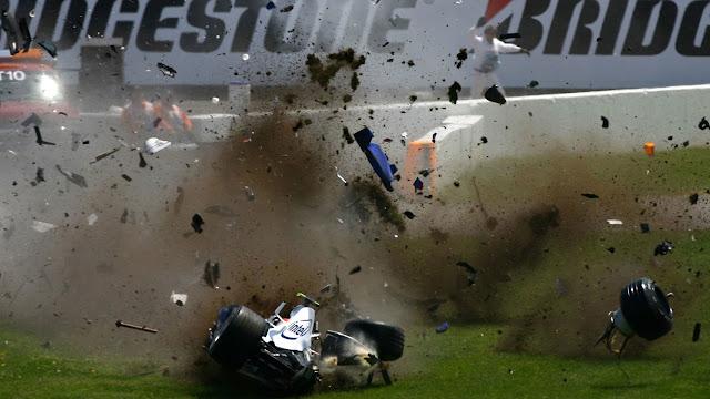 5 Kecelakaan F1 Paling Parah dan Fatal Sepanjang Masa