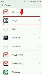 Cara Baru Daftar Email Gmail Lewat hp Android Lengkap Dengan Gambar