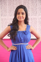 Divya Nandini stunning Beauty in blue Dress at Trendz Exhibition Launch ~  Celebrities Galleries 057.JPG