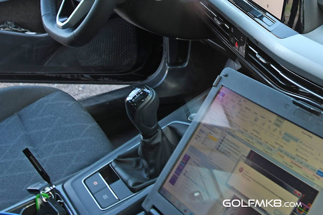 Novo VW Golf 2020 mk8 - interior