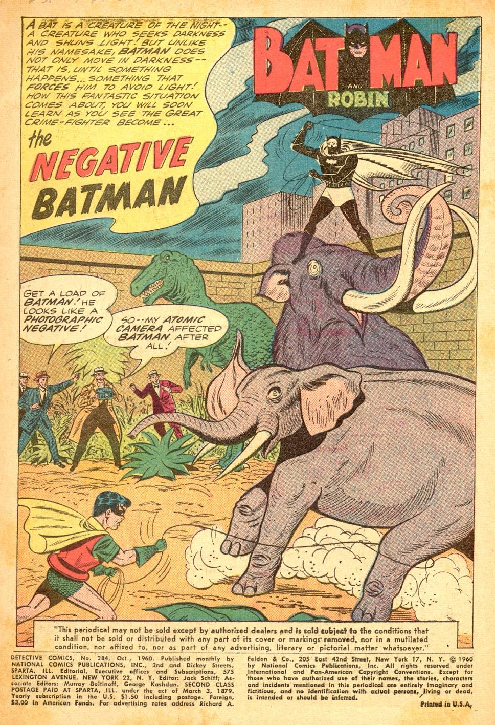 Detective Comics (1937) 284 Page 2
