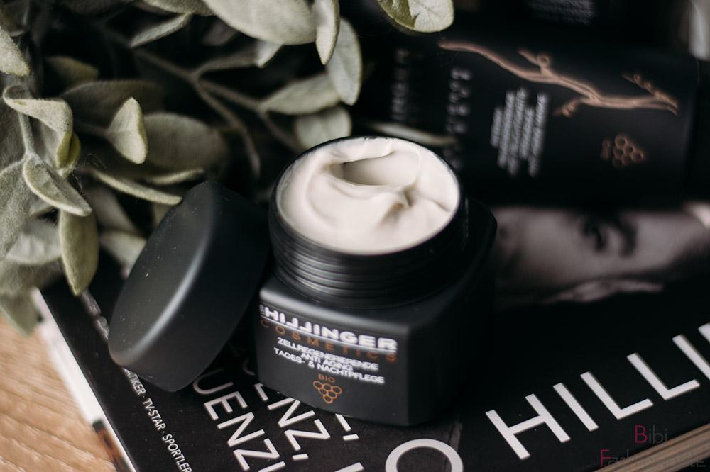Hillinger Cosmetics Zellregenerierende Anti-Aging Tages- und Nachtpflege offen