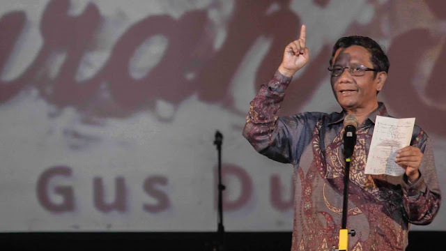 Mahfud MD: #2019GantiPresiden Bukan Makar