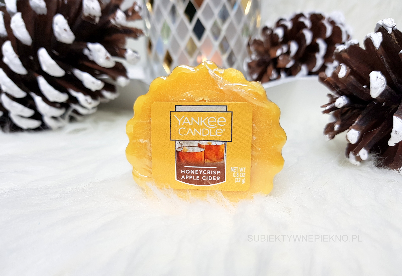 HONEYCRISP APPLE CIDER YANKEE CANDLE