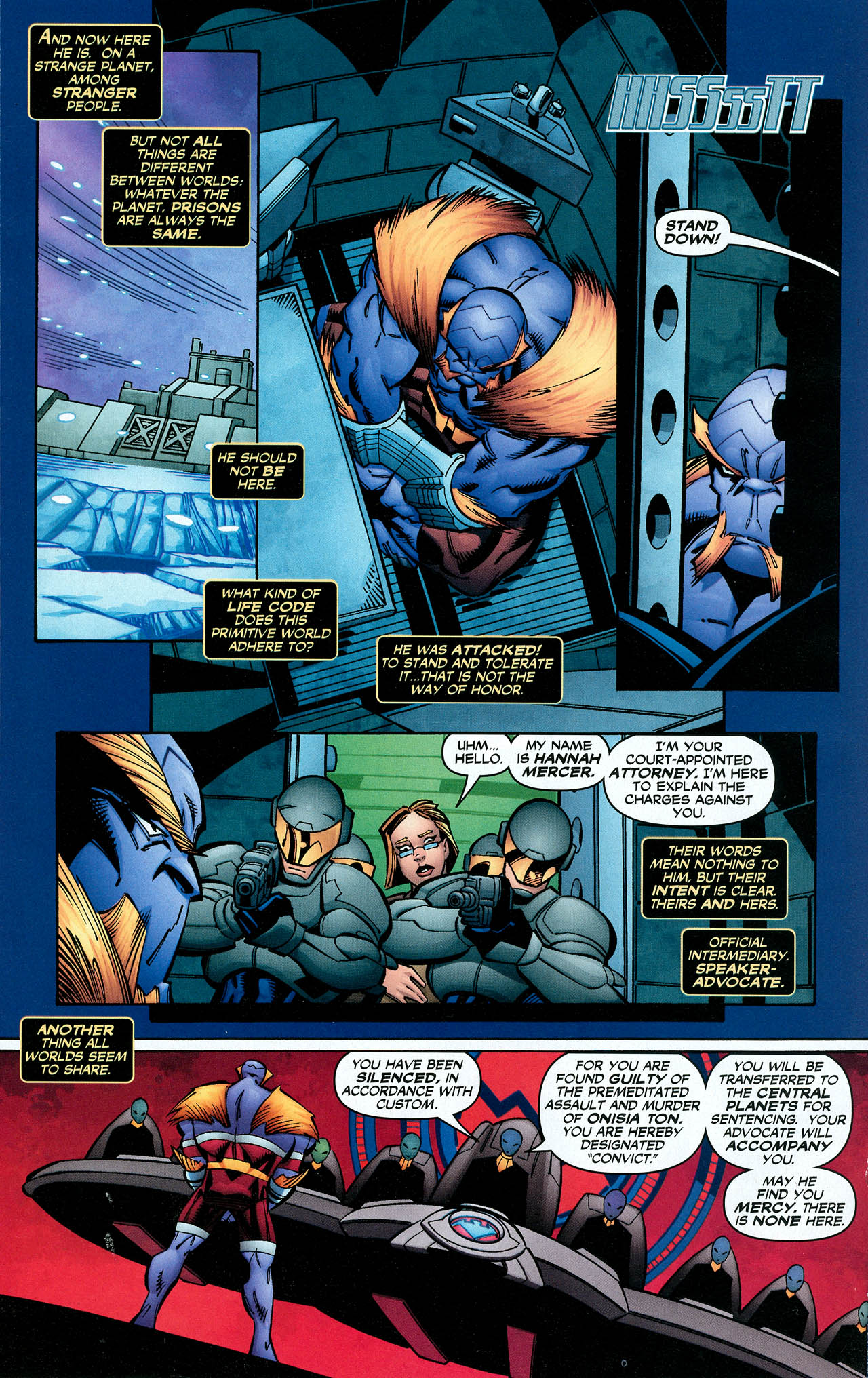 Read online Trinity (2008) comic -  Issue #17 - 14
