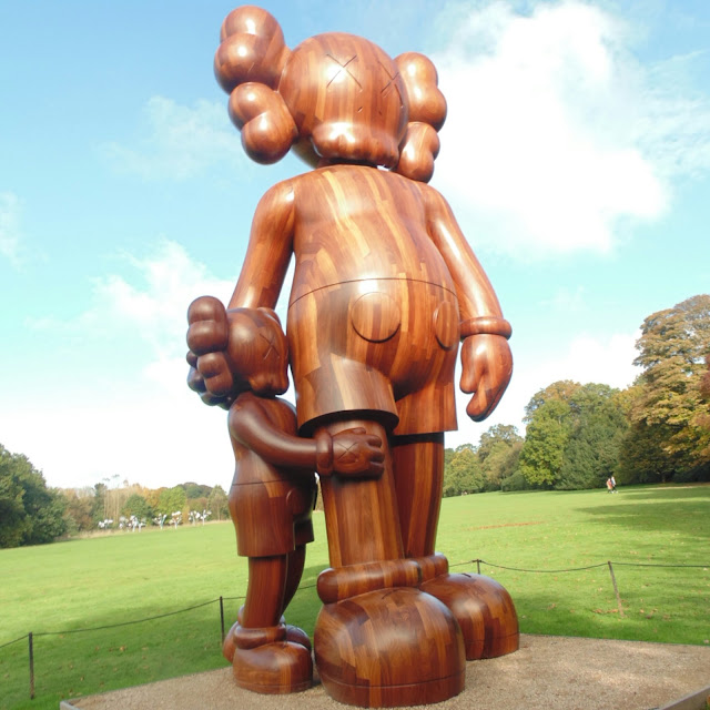 KAWS,  Yorkshire sculpture park