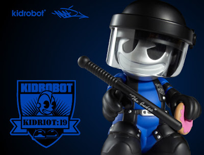 Kidrobot 19: KidRiot Vinyl Figure by MAD