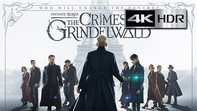 Animales fantásticos: Los crímenes de Grindelwald (2018) REMUX 4K UHD [HDR] Latino-Ingles