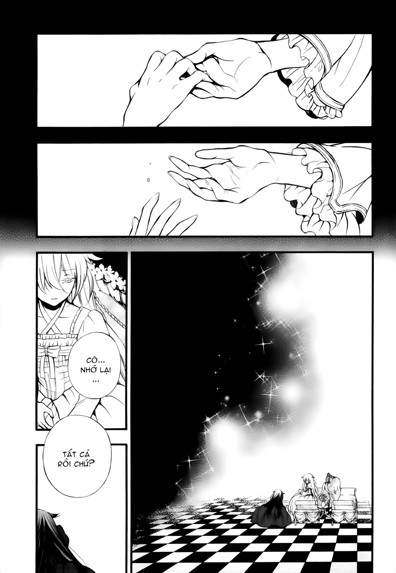 Pandora Hearts chương 077 - retrace: lxxvii vacant trang 13