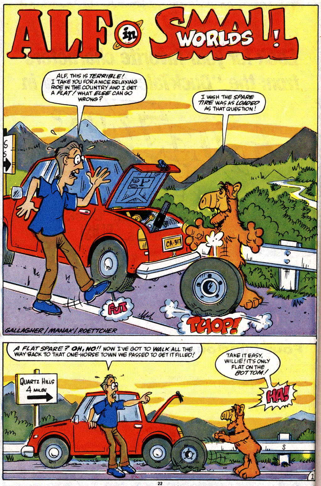 Read online ALF comic -  Issue #10 - 17