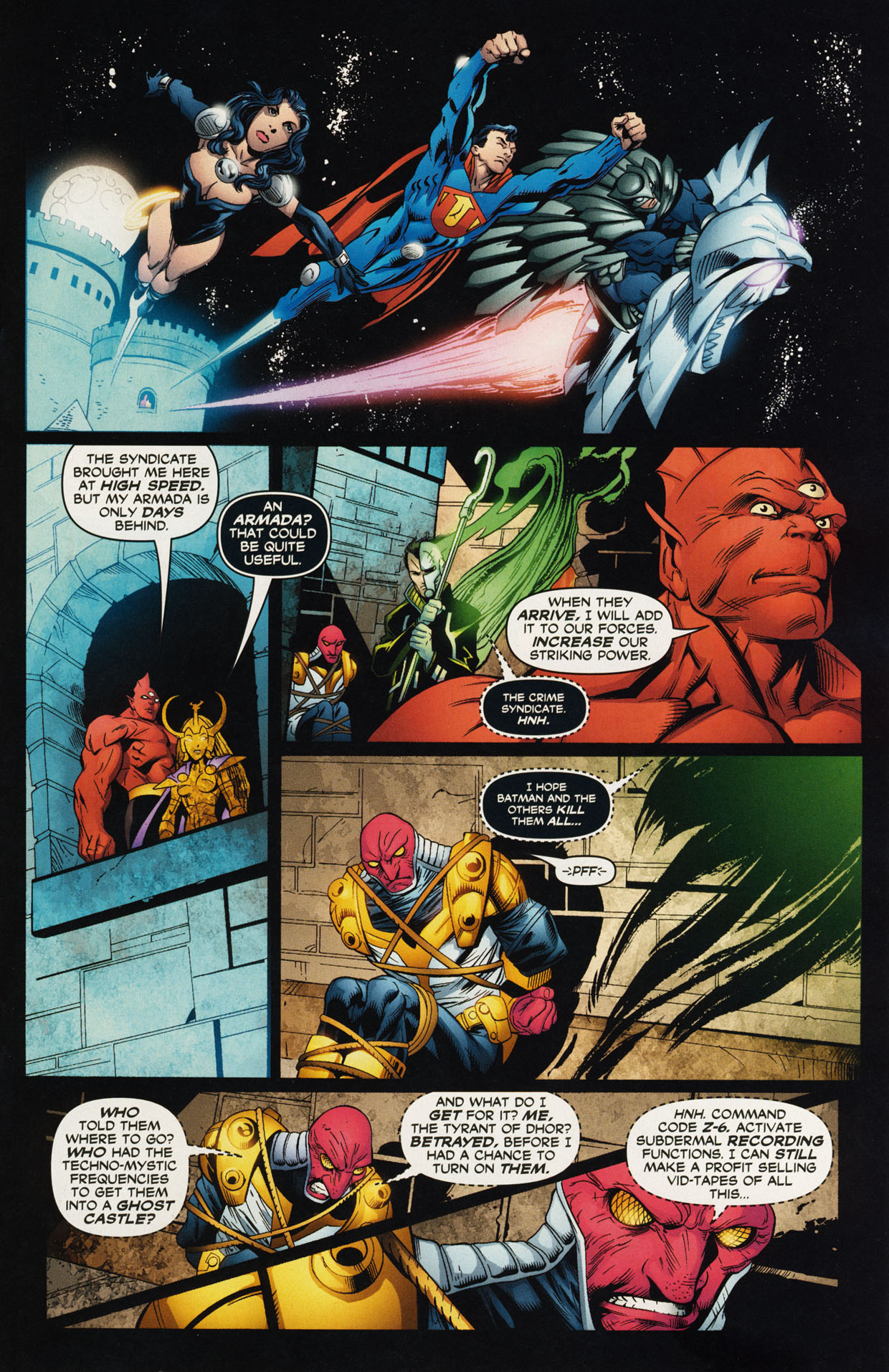 Read online Trinity (2008) comic -  Issue #44 - 13