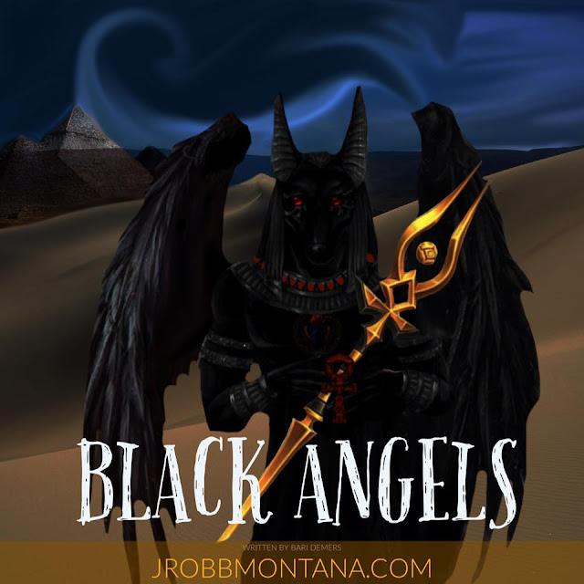 Black Angels by Bari Demers