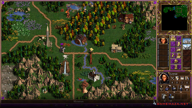 Heroes of Might and Magic III Gameplay Screenshot 1