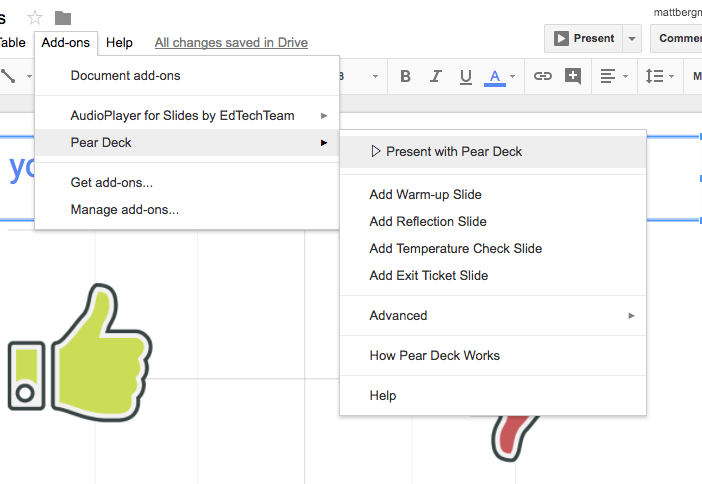 learn lead grow google slides peardeck add on highly engaging