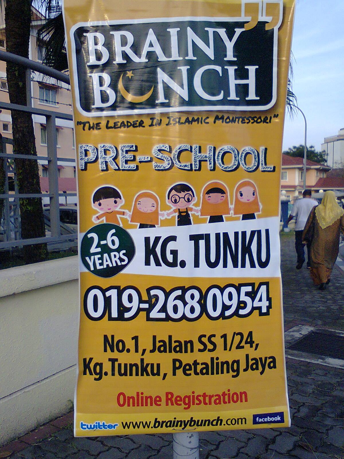 Petaling Jaya Ss2 Directory Brainy Bunch Islamic Montessori Pre School