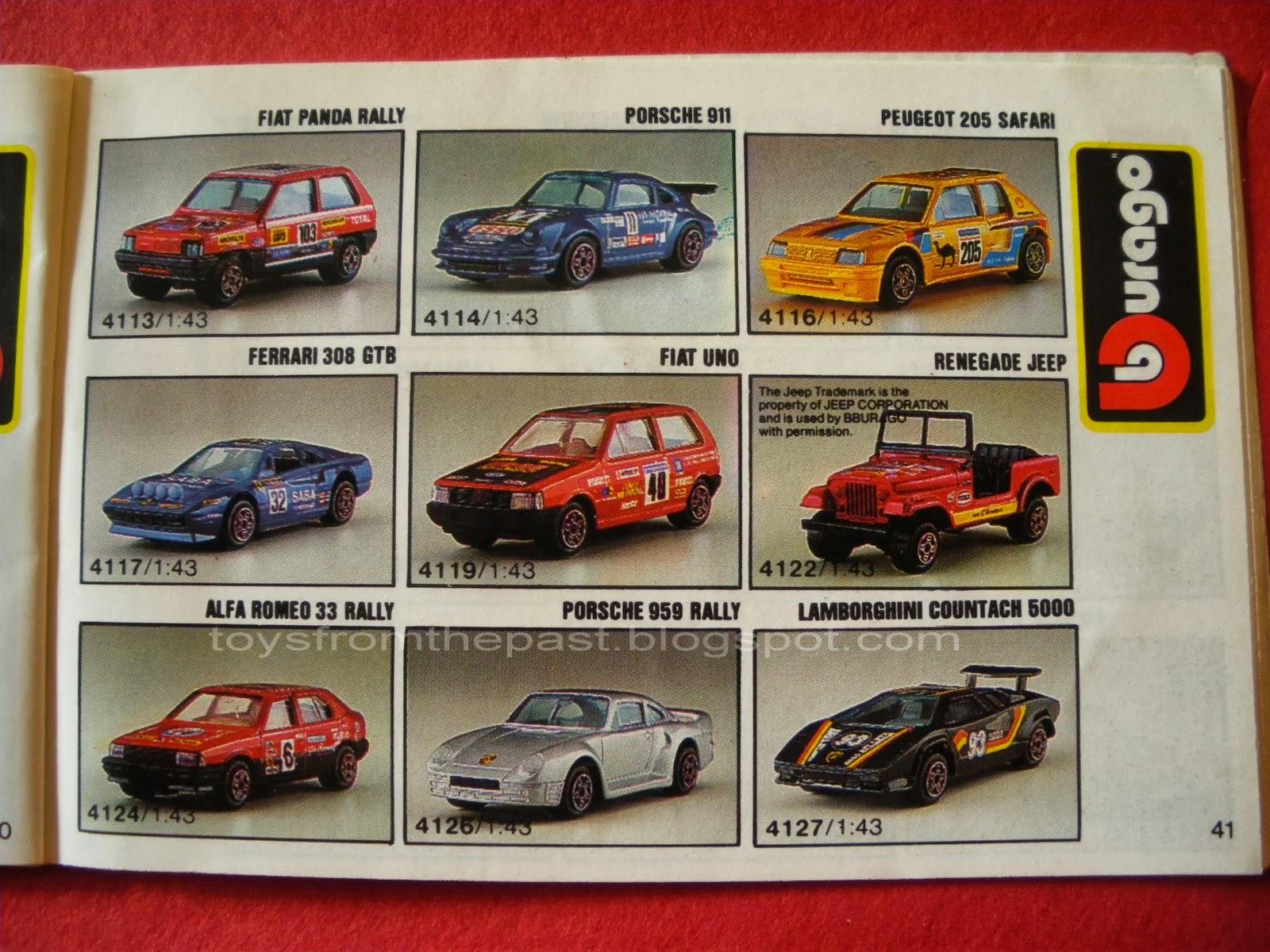 Toys From The Past 346 Bburago Ferrari 308 Gtb Rally