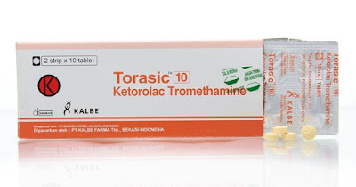 Torasic - Manfaat, Efek Samping, Dosis dan Harga
