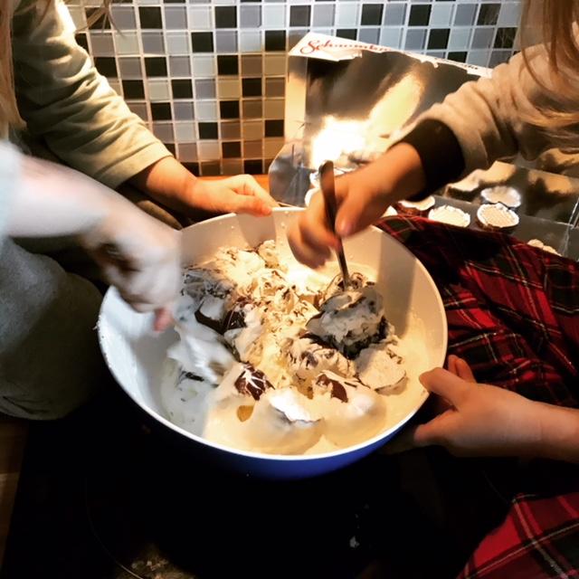 Wochenende in Bildern: Torte backen