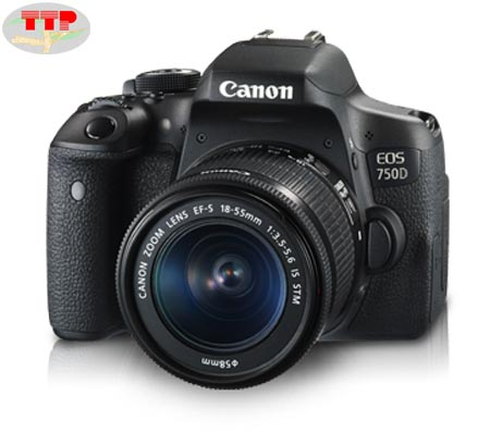 Máy chụp hình Canon EOS 750D Kit Lens 18-55 IS STM