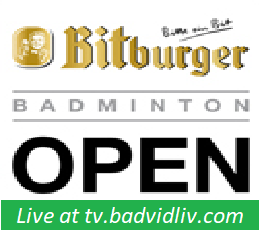 Bitburger Badminton Open 2017 live streaming and videos