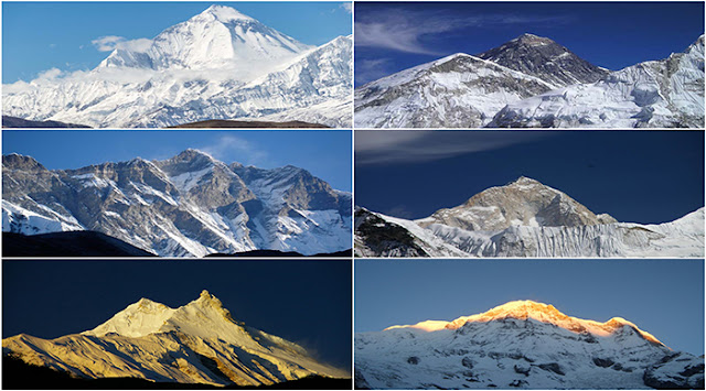 Nepal alone has 14 out of 20 tallest  mountains