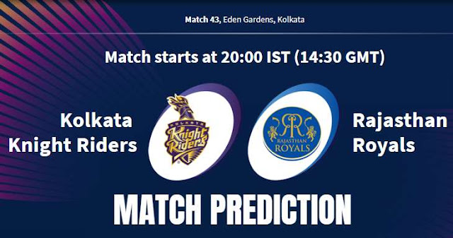 VIVO IPL 2019 Match 43 KKR vs RR Match Prediction, Probable Playing XI: Who Will Win?