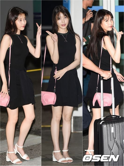 IU Looking Lovely Amp Chic In Her Little Black Dress At