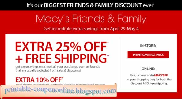 macys online coupons codes 2019